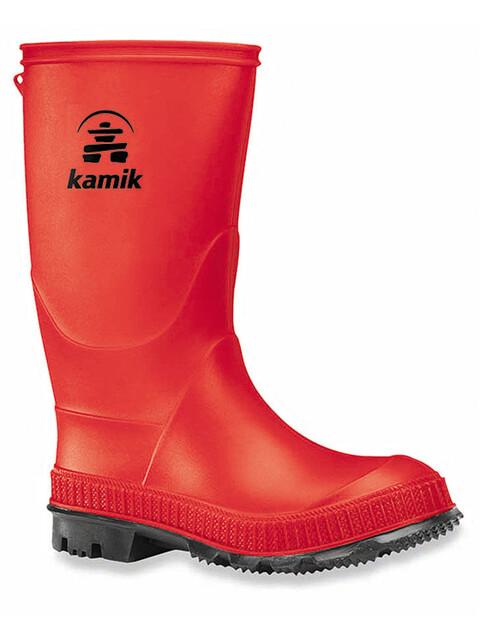 Kamik Stomp - Bottes en caoutchouc Enfant - rouge